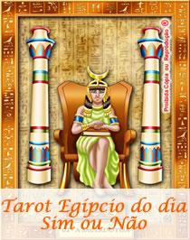 Tarot Egipcio do Dia Sim ou Nao
