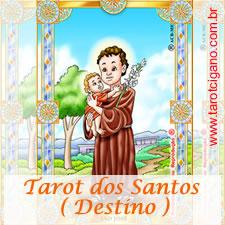 Tarot dos santos destino